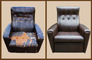Обновляем старое кресло